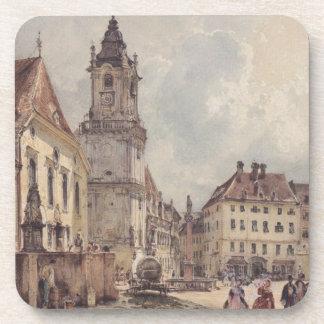 La plaza principal en Bratislava de Rudolf von Alt Posavaso