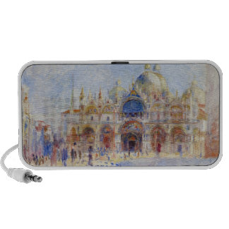 La plaza San Marco, Venecia, 1881 (aceite en lona) Portátil Altavoz