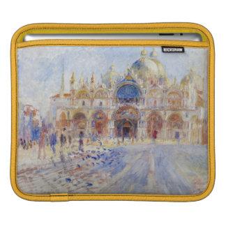 La plaza San Marco, Venecia, 1881 (aceite en lona) Funda Para iPads