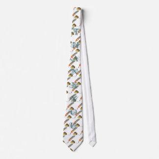 La pluma de la pluma le agradece atar corbata
