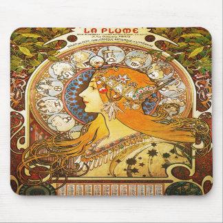 La Plume Zodiaque, Mucha Mousepad