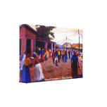 La población de Nigeria Mojisola Gbadamosi Okubule Impresion En Lona