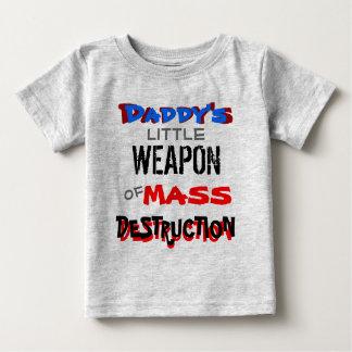 La poca arma del papá de la destrucción total playeras