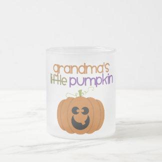 La poca calabaza de la abuela taza de cristal