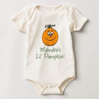 La poca calabaza de Memere Mamelucos De Bebé