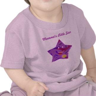 La poca estrella de la mama camisetas
