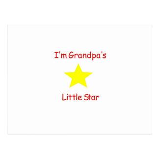 La poca estrella del abuelo tarjetas postales