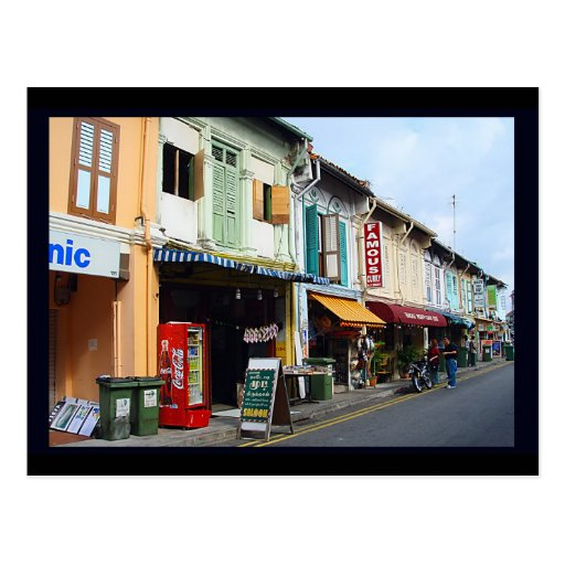La poca India, Singapur Postales
