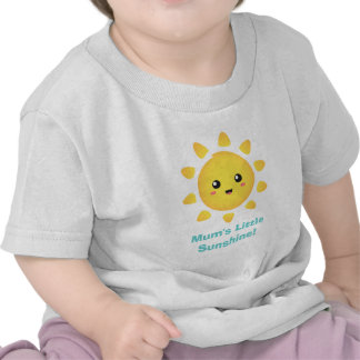 La poca sol de la momia de la felicidad camisetas