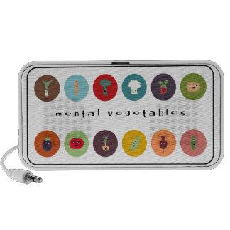 ¡la polca mental de los veggies! notebook altavoces