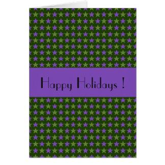 La polca protagoniza el texto verde, adaptable tarjeta de felicitación