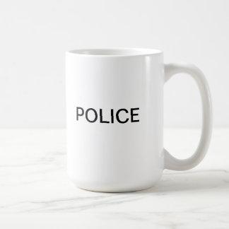 La policía asalta taza
