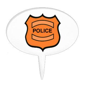 La policía Badge