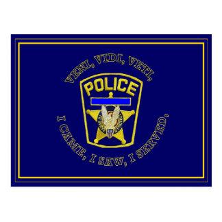 La policía Badge Devuce Postal