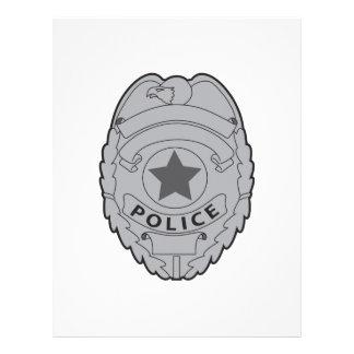 LA POLICÍA BADGE MEMBRETE