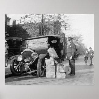 La policía captura a los contrabandistas Car 1922