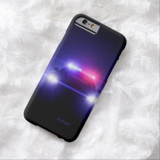 La policía captura el centelleo completo de las funda para iPhone 6 barely there