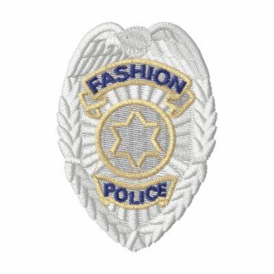 La policía de la moda Badge