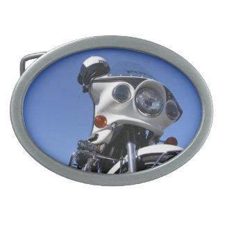 La policía de la motocicleta se enorgullece