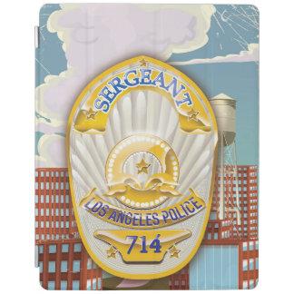 La policía de Los Ángeles Badge Cubierta De iPad