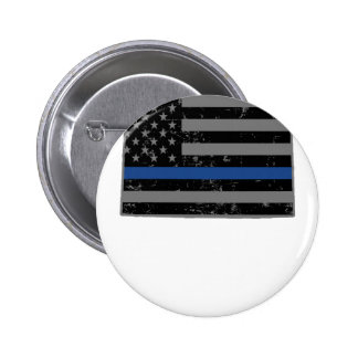 La policía de Wyoming y la aplicación de ley Pin Redondo De 2 Pulgadas