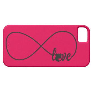 La policía del amor Badge la caja del teléfono del iPhone 5 Funda