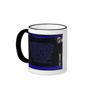 La policía del estado de Massachusetts/Blue Line f Taza A Dos Colores
