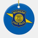 La policía del estado de Michigan adorna Ornamento De Reyes Magos