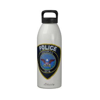 La policía del ferrocarril de Conrail remienda Botellas De Agua Reutilizables