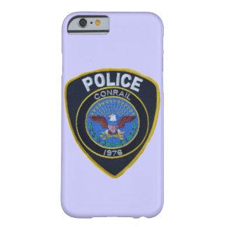 La policía del ferrocarril de Conrail remienda Funda Para iPhone 6 Barely There