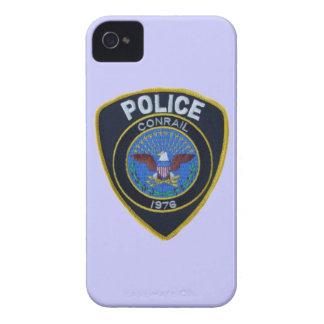 La policía del ferrocarril de Conrail remienda iPhone 4 Cárcasas