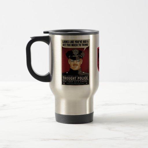 La policía del pensamiento asalta taza de café