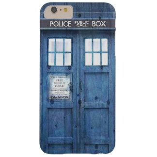 La policía divertida llama por teléfono a la caja funda para iPhone 6 plus barely there