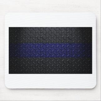 La policía enrarece la placa del diamante de Blue  Mousepads