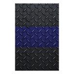 La policía enrarece la placa del diamante de Blue  Papelería