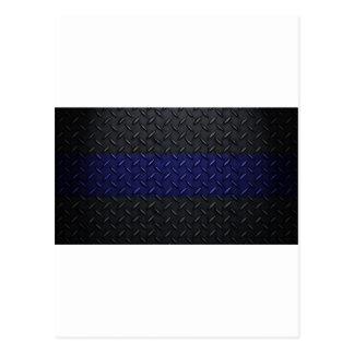 La policía enrarece la placa del diamante de Blue  Tarjetas Postales