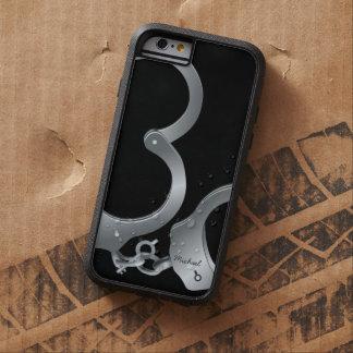 La policía esposa funda de iPhone 6 tough xtreme