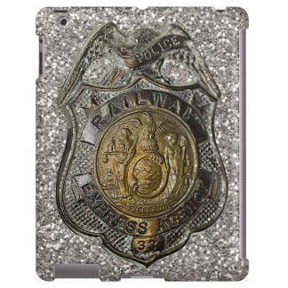 La policía expresa del ferrocarril Badge el caso Funda Para iPad