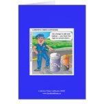 La policía Humor la tarjeta del asalto y de felici