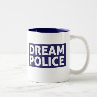 La policía ideal asalta taza dos tonos