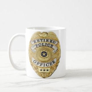 La policía jubilada asalta taza de café