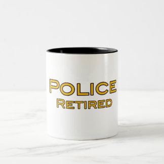La policía jubilada asalta tazas de café