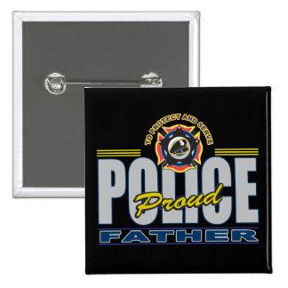 La policía orgullosa engendra pins