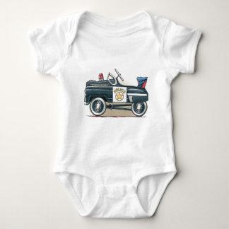 La policía Pedal coche del poli del coche Body Para Bebé