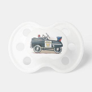 La policía Pedal coche del poli del coche Chupetes De Bebe