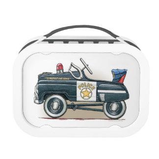 La policía Pedal coche del poli del coche