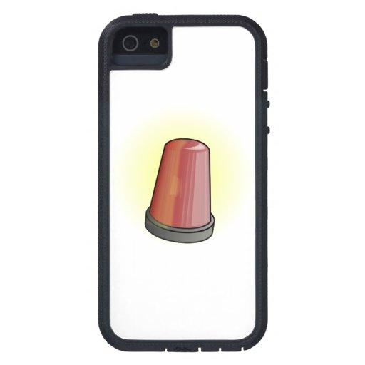 La policía se enciende iPhone 5 Case-Mate protector