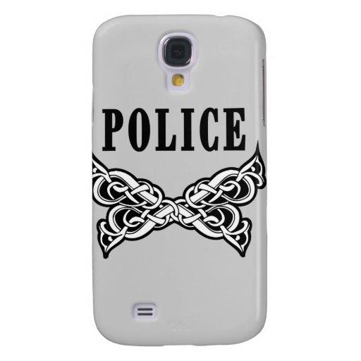 La policía tatúa funda para galaxy s4