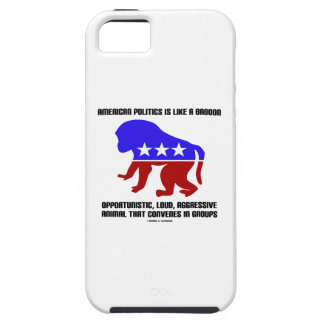 La política americana es como decir del babuino funda para iPhone SE/5/5s
