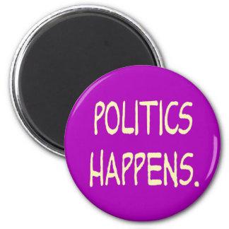 la política sucede imanes de nevera